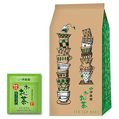 伊藤園 エコティーバッグ おーいお茶 抹茶入り緑茶(エコ&ハッピー)1.8g×120袋