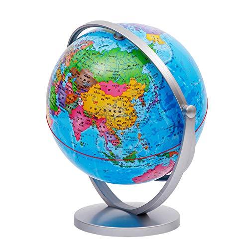 Jopjdpdsf Globus Beleuchtet,20-cm-Hd-Schüler Unterrichten 720-Grad-Universalkugeln. 25-cm-Kindergarten-Frühklassen