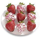 9 Love Bites Chocolate Covered Strawberries (Fun Size)