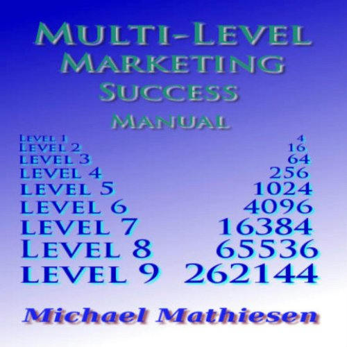 Multilevel Marketing Success Manual audiobook cover art