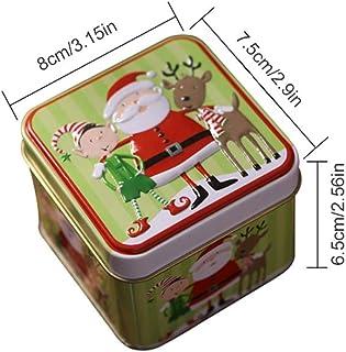 Scatola Latta Biscotti Natale.Amazon It Scatole Latta Natale