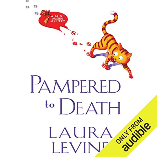 Pampered to Death audiobook cover art