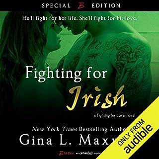 Fighting for Irish audiobook cover art