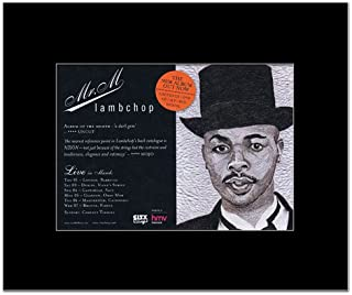 Music Ad World LAMBCHOP - Mr M Mini Poster - 21x13.5cm