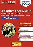 Concours Adjoint technique principal de 2e classe - Concours externe, interne et 3e voie, et examen professionnel 2020