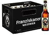 24 x levadura de cerveza Franziskaner blanco naturtrüb 0,33l 5,0% vol. caso Original