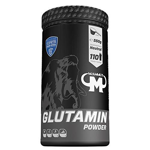 Mammut Glutamin Powder, 550 g