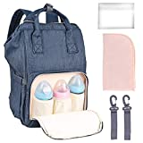 Nabance Baby Diaper Changing Bag Backpack Large Capacity Mum Rucksack Backpack Maternity Bags