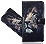ALCATEL U5 4G Handy Tasche, FoneExpert® Wallet Hülle Flip Cover Hüllen Etui Hülle Ledertasche Lederhülle Schutzhülle Für ALCATEL U5 (4G) 5044D