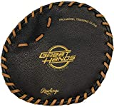 Rawlings Great Hands Training Glove, Black, One Size