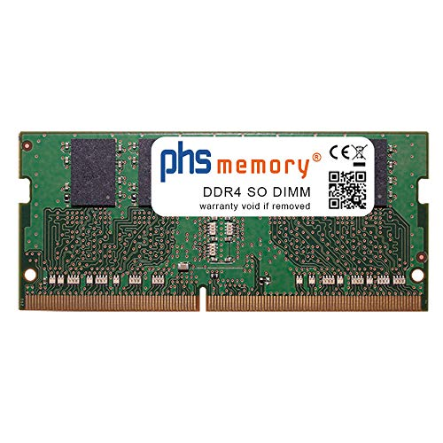 PHS-memory 8GB RAM módulo para Aquado All-IN 27 Curved Pro i7-SSD Silent v0520 DDR4 SO DIMM 2666MHz PC4-2666V-S