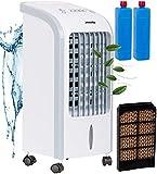 3in1 Mini Aircooler | 4 Liter Kapazität | Mobile Klimaanlage | 3 Geschwindigkeitsstufen |...