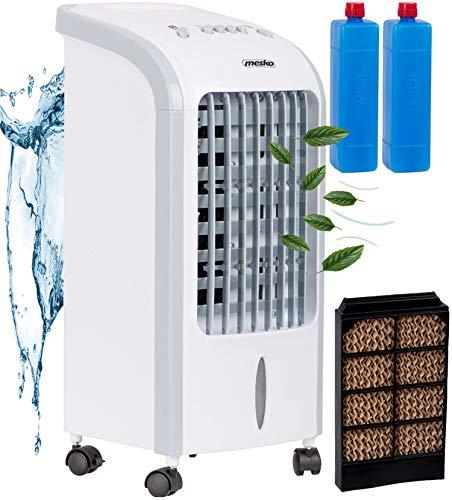 3in1 Mini Aircooler | 4 Liter Kapazität | Mobile Klimaanlage | 3 Geschwindigkeitsstufen | Klimagerät | Luftreiniger | Klima Ventilator | Luftkühler | Air Cooler | (Weiß)
