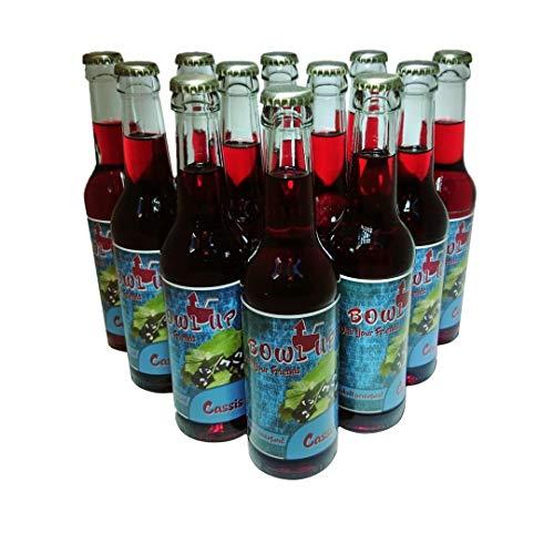 BowlUp Cassis (12er Packung) - fruchtige alkoholhaltige Bowle mit dem Geschmack schwarzer Johannisbeere