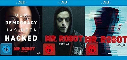 Mr. Robot - Staffel 1+2+3 Blu-ray Set (8 Blu-rays)