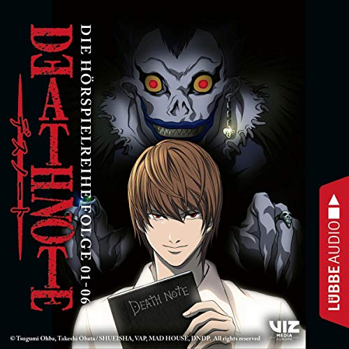 Death Note 1-6. Die Hörspielreihe  By  cover art