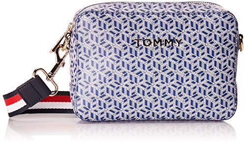 Tommy Hilfiger Kamera-Tasche ICONIC TOMMY CAMERA BAG MONOGRAM blau - OS
