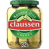 Claussen Kosher Dill Pickle Halves, 32 fl oz Jar