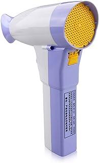 Inalámbrico recargable secador de pelo y desmontable la batería de litio secador de pelo potencia con el control de doble caliente y uno frío-aire, soporte de salida de corriente USB