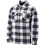 Dickies SH5000 Portland Shirt - Weiß/Grau - Gr. L