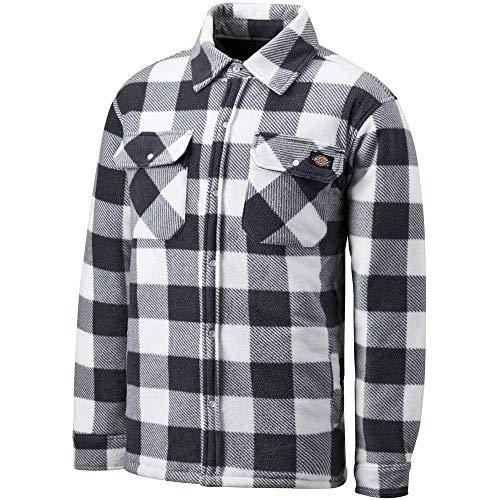 Dickies Workwear Dickies SH5000 Portland Shirt, XL, Weiß/Grau