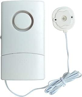 Dengofng Hogar Agua Gotera Alarma Práctico Fugas Sensor Desagüe Sensible Monitor para Tanque de Peces, Tanque de Agua, Cocina, Almacén, Garaje, Solar Calentador de Agua Keep Seguridad Hogar