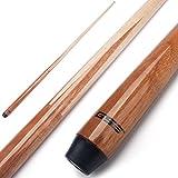 GSE Games & Sports Expert 36'/42'/48'/58' 1-Piece Canadian Maple Billiard/Pool Cue Sticks