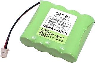 プロランキング[Large capacity 2000mAh talk time UP]NTTコードレス電話携帯電話用充電式バッテリー..購入