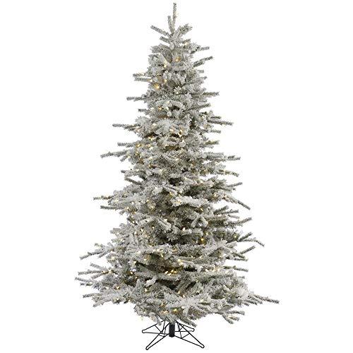 Vickerman Flocked Sierra Fir Artificial Christmas-Trees, 14', Green