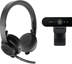 Logitech Pro Personal Video Collaboration Kit (Zone Wireless + Brio Webcam)