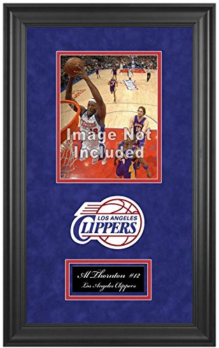 Los Angeles Clippers NBA 8x10 Photograph Team Logo and Basketball