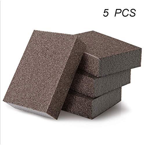 5 Piezas Limpieza Esmeril Esponja Abrasiva Espesar
