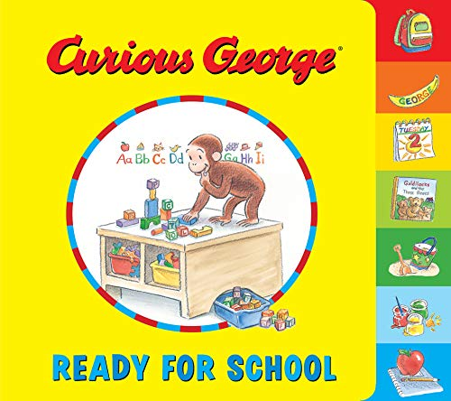 Curious George Ready for School (English Edition)