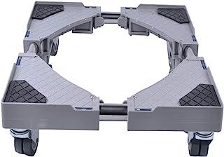 LUCKUP Base ajustable móvil multifuncional con 4 ruedas gir