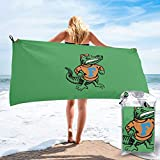 Florida Gator Gators Fishing Large Beach Towel Portable...