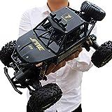 Decoración de escritorio Racing Modelo Boy de carga de coches de juguete RC grandes pies de los niños Rock Crawlers coche 2.4G remoto de carreras de coches 4WD Off Road RC deriva Escalada camión Jugue