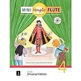 Mini Magic Flute (Band 4 von 4): Flöte lernen für die Jüngsten mit Flauti, Timpo & Marvo - jetzt neu in 4 Bänden. Band 4. für Flöte mit CD, teilweise mit Klavierbegleitung. Ausgabe mit CD.