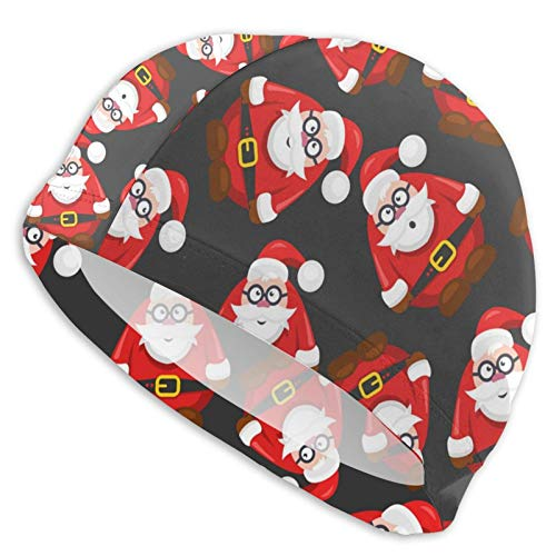 Curry J Yasha Santa Claus Swim Cap Light Weightsuitable for Adults and Teenagers Fashion