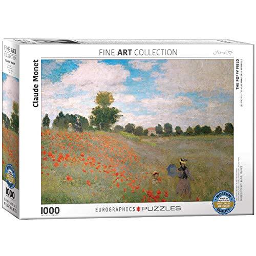 EuroGraphics 'Claude Monet Il Campo di Papaveri Puzzle (Pezzi, Multicolore)