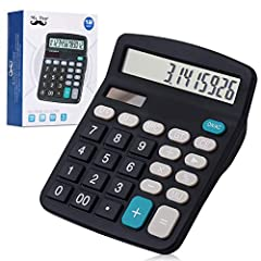 Big And Sensitive Keys For Simple Calculations, Perfect For Office, Primary School, Market Or Home Use. Add, Subtract, Multiply, Divide, Backspace, % And MU. Auto-Off When You Do Not Use It About 10 Minutes Size 5.7 X 4.7, Doesn't Take Up Much Desk S...