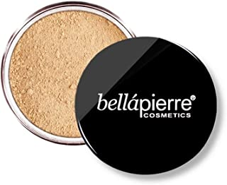 bellapierre Mineral Foundation SPF 15 Loose Finishing Powder   All-Natural Vegan & Cruelty Free Full Coverage Concealer   ...