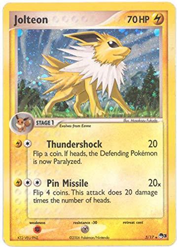 Pokemon Card POP #3 Promo 3/17 - JOLTEON (holo-foil)