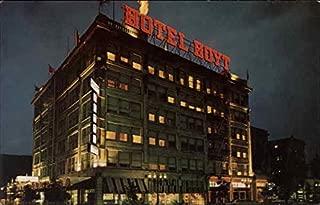 Hoyt Hotel Portland, Oregon Original Vintage Postcard