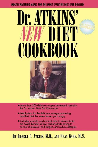 Dr. Atkins' New Diet Cookbook (English Edition)