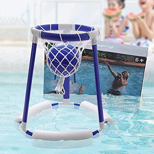 TangYang - Aro de Baloncesto Inflable para Piscina, Juego de Flotador de Piscina Inflable, Juego de aro de Baloncesto para Piscina, Juego de Baloncesto de Agua Flotante para Piscina