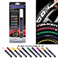 Tire Ink | Paint Pen for Car Tires | Permanent and Waterproof | Carwash Safe (White, 1 Pen)