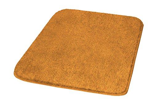 Meusch Tapis de Bain Mona 55x60cm Couleur Rouille, Polyacrylique, 55 x 60 x 2 cm