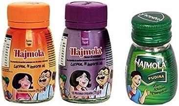 Dabur Hajmola Regular Imli Pudina Spearmint Digestive 120 Tablets 66g – Hajmola – The tasty Fun-Filled Digestive Combo Pack 3 in 1 Estimated Price : £ 7,91