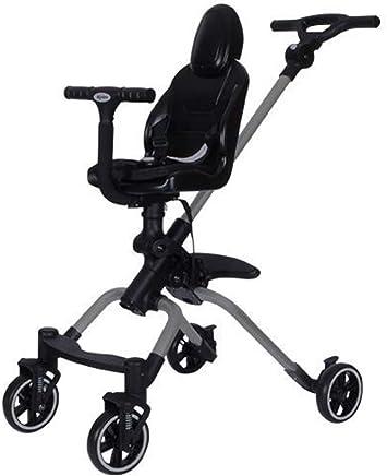 papay Passeggino Leggero Pieghevole A Quattro Ruote Baby Car Umbrella Bambino,Grey