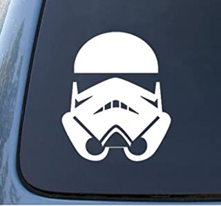 CMI620 STORMTROOPER - Star Wars - Car, Truck, Notebook, Vinyl Decal Sticker | Premium Quality White Vinyl 4.5